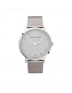 Larsson & Jennings Silver Chain Metal Watch