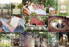Bespoke Country Weddings - Inspiration Board - Country Chattels