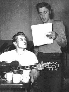 Let´s Keep the 50´s Spirit Alive!: Scotty Moore and Elvis Presley