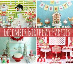 Winter Candyland First Birthday Party Candyland Winter birthday