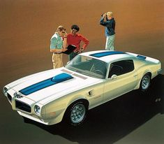 1970-73 Pontiac Firebird Trans Am • Art Fitzpatrick and Van Kaufman artwork