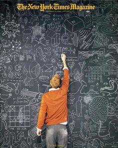 I definitely need a chalk wall...