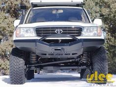 100 series solid axle swap by SLEE offroad. Toyota Lc, Toyota Trucks, Toyota Hilux, Toyota Tacoma, 100 Series Landcruiser, Landcruiser 100, Carros Toyota, Toyota Land Cruiser 100, Lexus Lx470