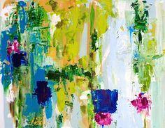 Abstract Art Original Painting 11 X 14 by susanskelleyart on Etsy