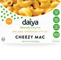 Daiya Cheezy Mac - Deluxe Cheddar Style Vegan Mac and Cheese PREORDER