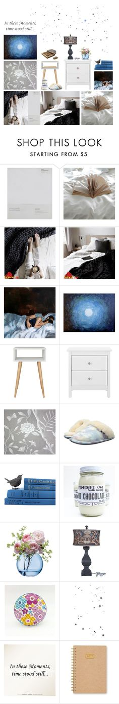 """""""In these moments..."""" by annacullart ❤ liked on Polyvore featuring interior, interiors, interior design, home, home decor, interior decorating, The White Company, Lewis & Wood, Bedroom Athletics and LSA International"""