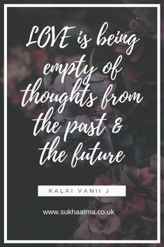 #Love #Thoughts #Empty