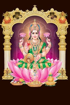 Lakshmi plays a special role as the mediator between her husband Vishnu and his worldly devotees Shiva Art, Krishna Art, Good Morning Gif Images, Cat Videos For Kids, Holy Symbol, Indian Spirituality, Gayatri Devi, Rama Image, Saraswati Goddess
