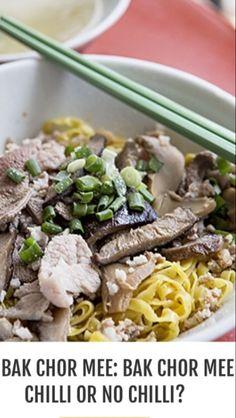 Bak chor mee - minced meat noodles