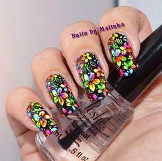 Fancy Nails, Love Nails, My Nails, Nail Stamper, Nail Tips, Nail Hacks, Stamping Nail Art, Nail Shop, Nail Artist