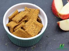 Flaxseed and chickpea flaxseed crackers. Easy, whole foods snack idea.