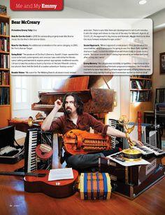 Outlander & Black Sails Music composer/director, Bear McCreary.