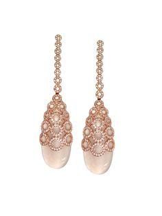 Carla Amorim 18k Raindrop Diamond   l London Jewelers