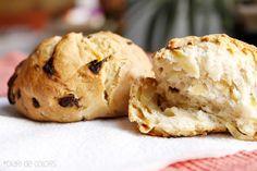 Receta pan de cebolla