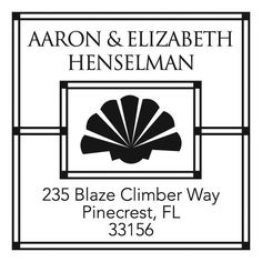 Personalized Stamp by Three Designing Women - 3260 ($39.95)