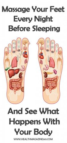 Massage Your Feet Every Night Before Sleeping And See What Happens With Your Body