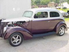 1937 Ford Tudor Streetrod