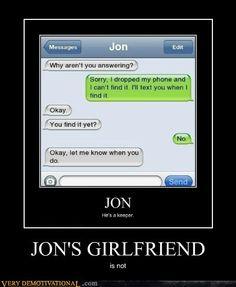bahaha idiot...lol