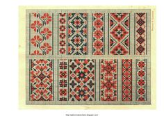 Free Easy Cross, Pattern Maker, PCStitch Charts + Free Historic Old Pattern Books: Ukrainian Embroidery 1930 - украинские вышивки 1930 (05 of 13)