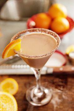 Chocolate-Orange Martini - Ree Drummond