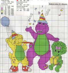 ENCANTOS EM PONTO CRUZ: Barney