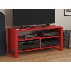 Altra Ruby Red TV Stand | Overstock.com Shopping - The Best Deals on Entertainment Centers