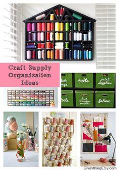Organizing Craft Supplies–Fresh Ideas to Inspire! - EverythingEtsy.com