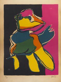 Karel Appel, (Dutch, 1921-2006), Figure