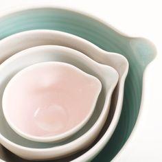 Handmade nesting bowls | Linda Bloomfield