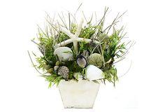 12 Lavender Jewel Table Topper on OneKingsLane.com