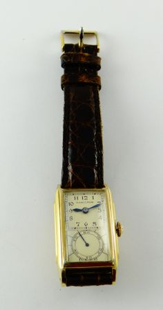 "Hamilton ""Seckron"" duo-dial doctor's watch, 1936 model"