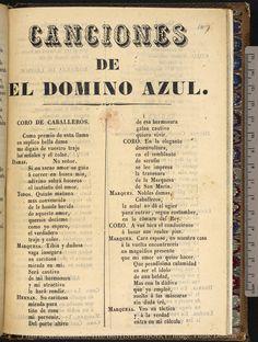 Canciones de El domino azul.