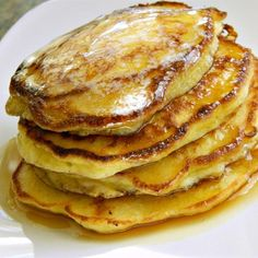 """Simple Cottage Cheese Pancakes 
