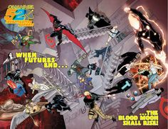 FUTURES END IS HERE! Welcome to the future – FUTURES END, that is! This September, DC Entertainment takes you five years into the future of DC Comics – The New 52, where the heroes of the DC Univer...