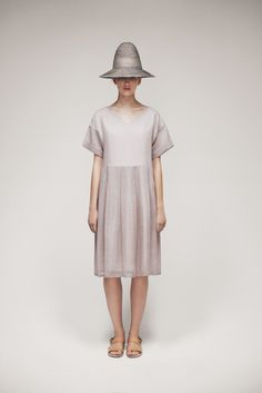 Bell Hat and Inoa Dress | Samuji SS15 Classic Collection