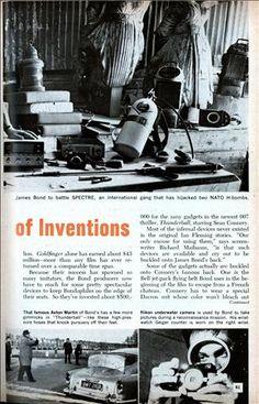 James Bond's Weird World of Inventions