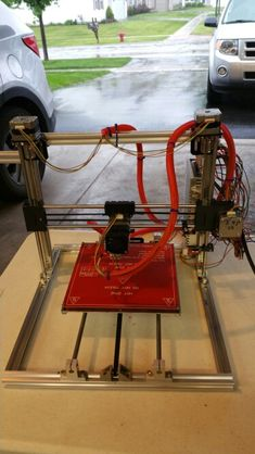 My Folger Tech Prusa i3 3d printer
