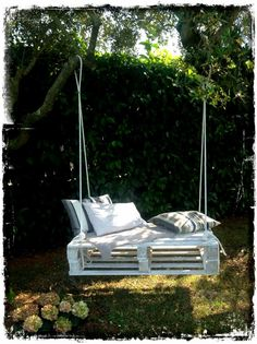 Χαλαρώστε σε μια κούνια στον κήπο ή τη βεράντα σας | Woody's Ξύλινες Χειροποίητες Κατασκευές