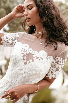Untamed Heart | The Brand New Wedding Dress Collection from Lovers Society New Wedding Dresses, Dress Collection, Bell Sleeves, Backless, Lovers, Brand New, Gowns, Vestidos, Dresses