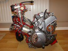 Eclaté moteur XTZ 750