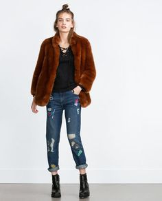 12 Fashionable Faux Fur Coats You Will Never Want to Take Off
