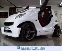 Smart Crossblade in beautyful white