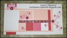 by Laurie Flannery... using the CTMH Sweetheart paper pack (retired)