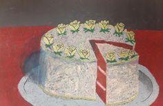 Wayne Thiebaud Cake
