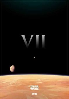 Star Wars 7 -2015. I got way to excited over this!!