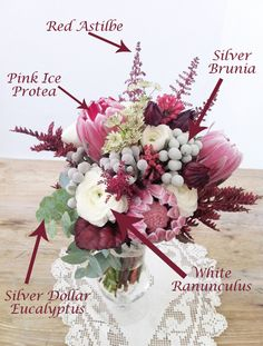 Plummy Marsala Bouquet