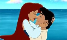 9. Favorite Couple: Ariel and Eric. Go on and Kiss the Girl.