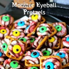 Monster treats are so much fun to decorate and color! Here are the 11 Best Monster Treats!