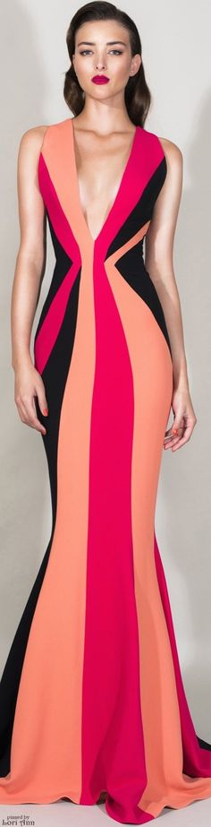 Zuhair Murad Resort 2016. women fashion outfit clothing stylish apparel @roressclothes closet ideas