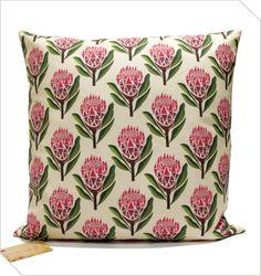 Protea Cushion   Meekel
